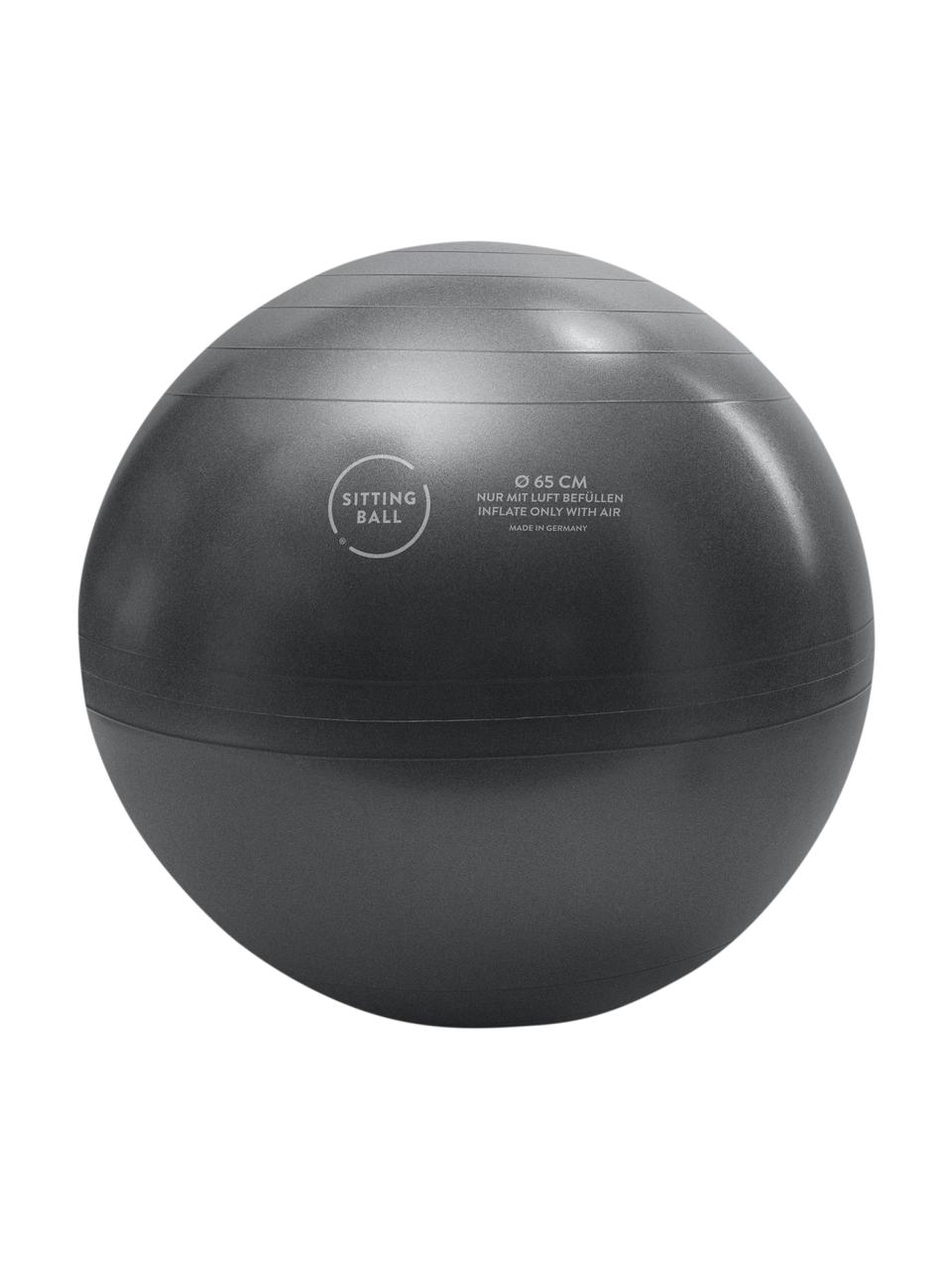 Seduta a sfera Felt, Rivestimento: poliestere (imitazione fe, Antracite, Ø 65 cm