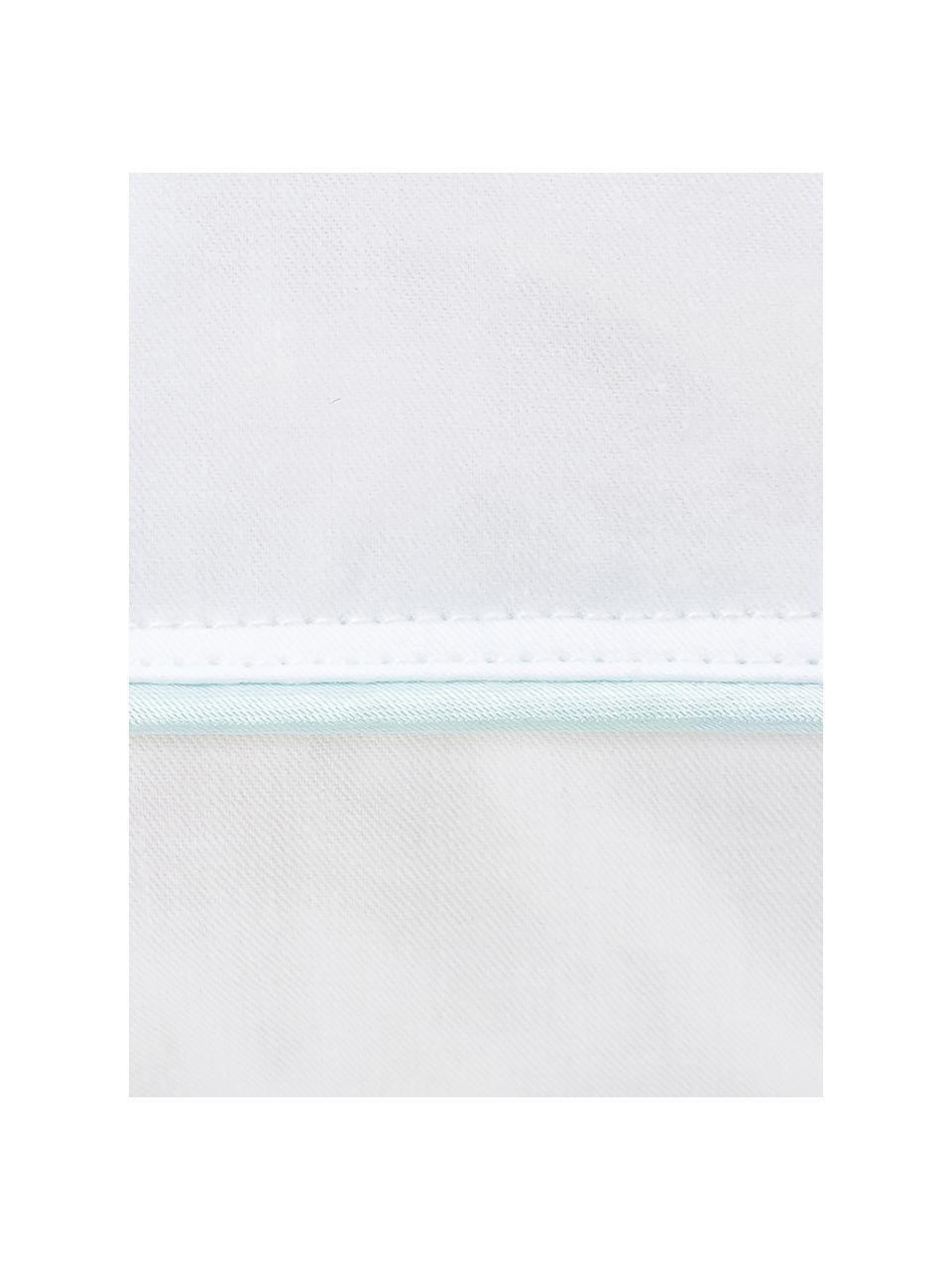 Feder-Kopfkissen Classic, mittel, Hülle: 100% Baumwolle, Mako-Köpe, Weiß, 80 x 80 cm