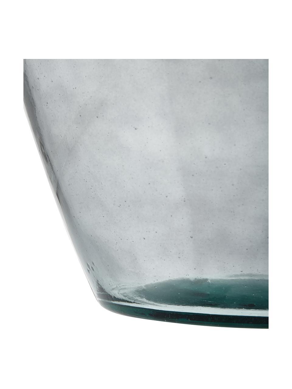 Bodenvase Beryl, Glas, Grau, Ø 40 x H 65 cm