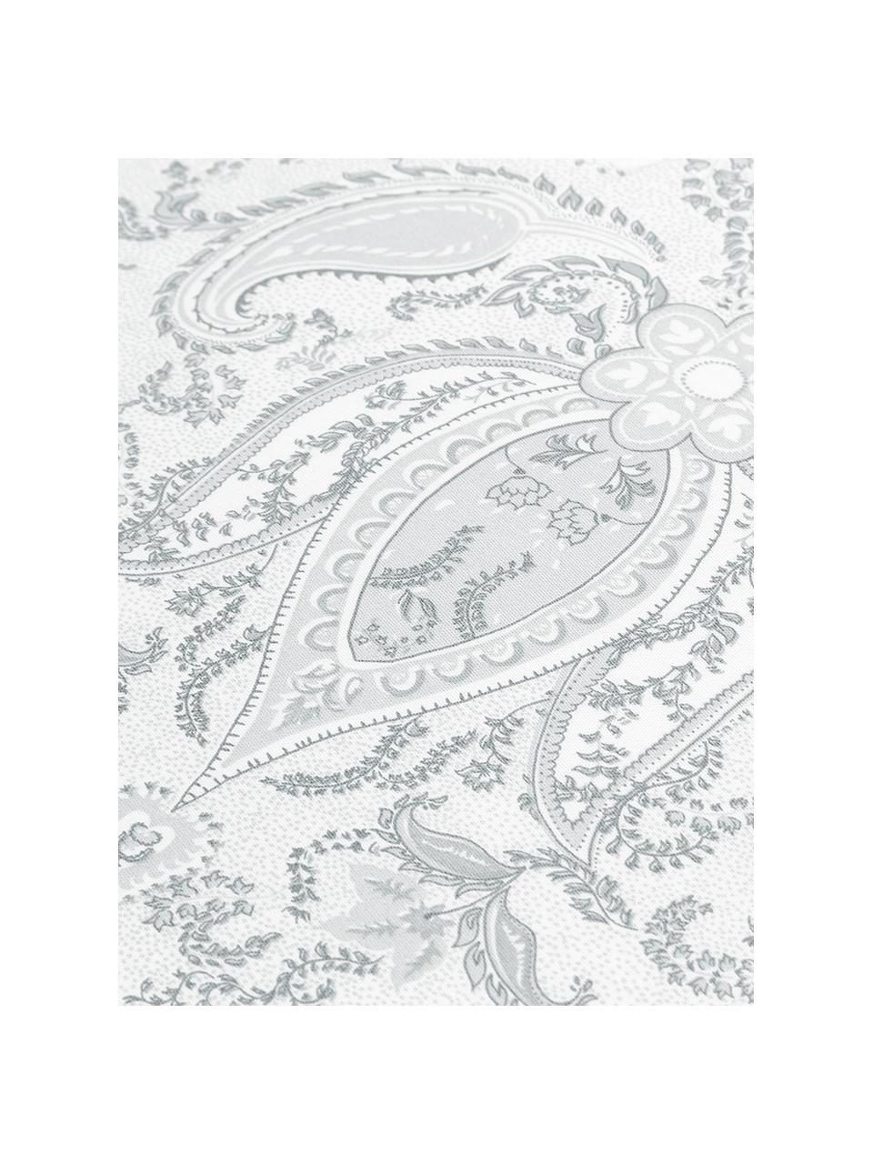 Baumwollsatin-Bettwäsche Grantham mit Paisley-Muster, Webart: Satin Fadendichte 200 TC,, Hellgrau, 135 x 200 cm + 1 Kissen 80 x 80 cm