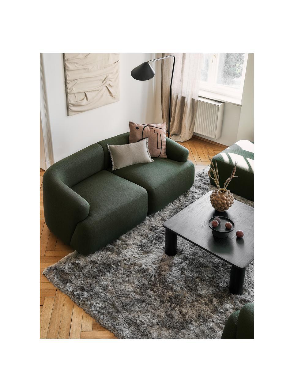 Canapé modulable vert Sofia (2 places), Vert