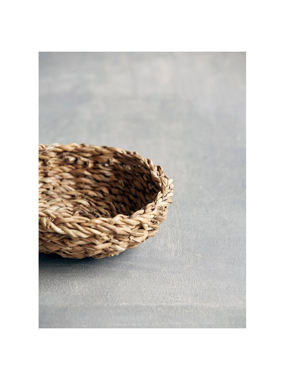 Komplet koszy na pieczywo z trawy morskiej Tango, 2 elem., Morszczyn, Beżowy, Komplet z różnymi rozmiarami