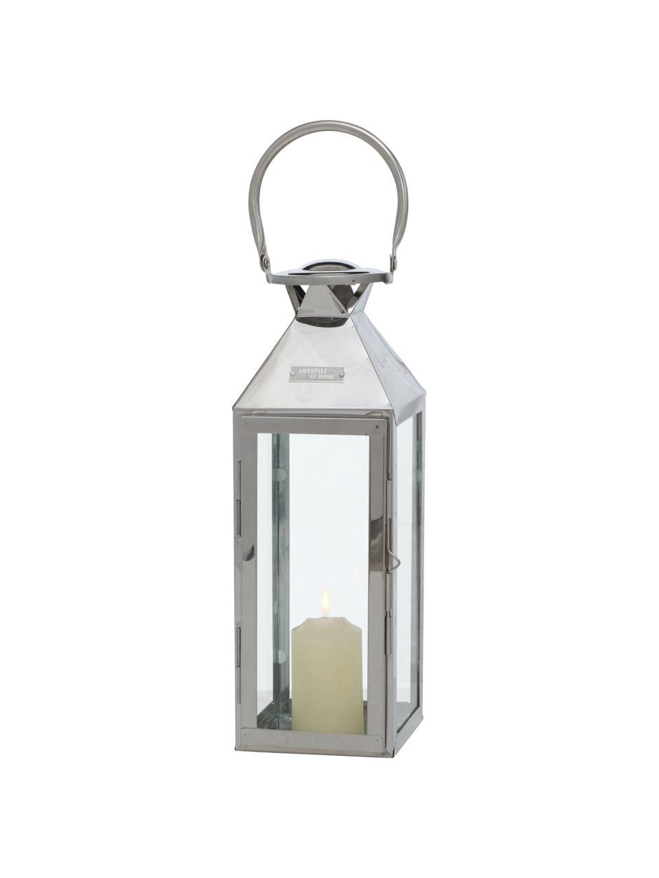 Set 2 lanterne Jason, Struttura: acciaio inossidabile, Acciaio inossidabile, Set in varie misure