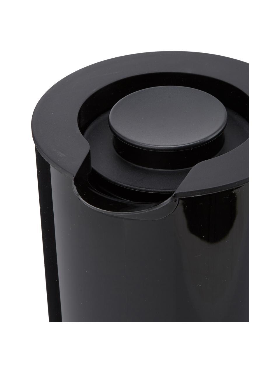 Waterkoker EM77 in zwart glanzend, Zwart, Ø 13 x H 25 cm