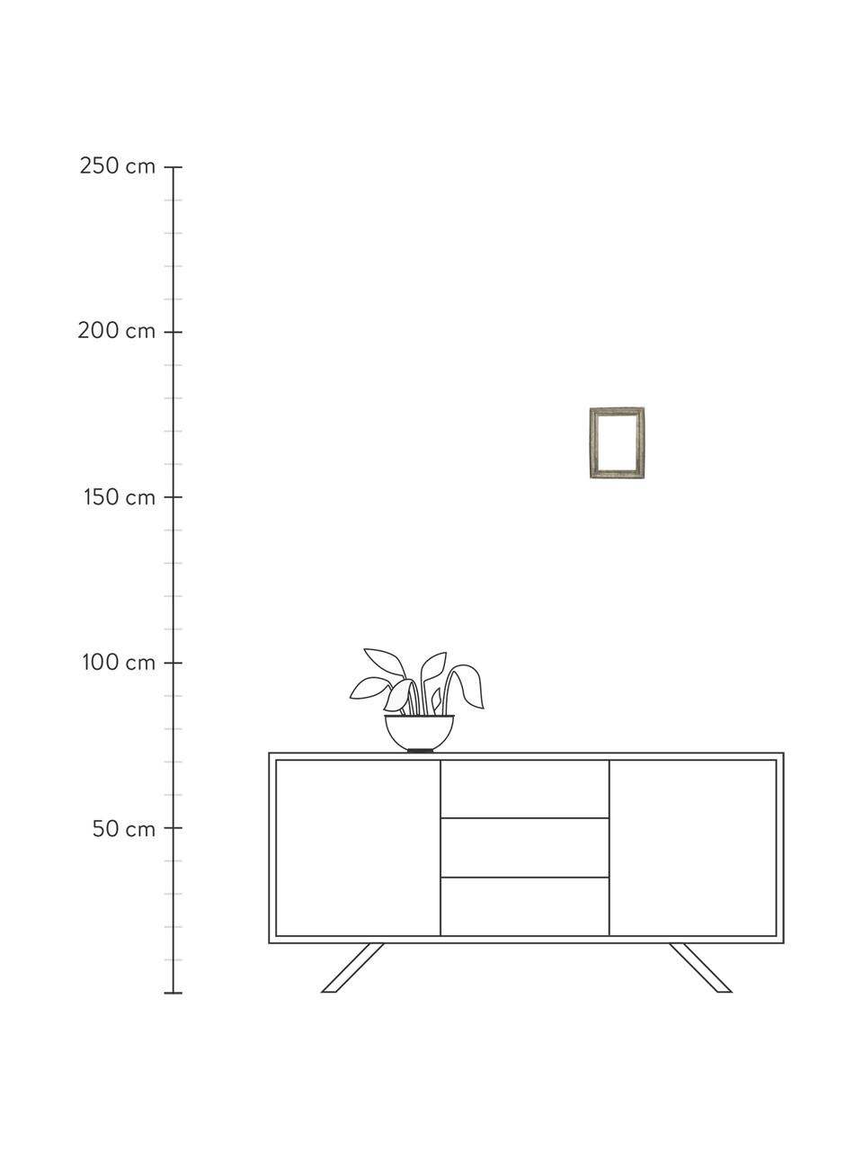 Bilderrahmen Insect, Rahmen: Polyresin, Front: Glas, Goldfarben, 10 x 15 cm