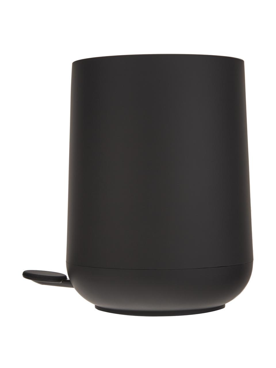 Kosz na śmieci Nova, Tworzywo sztuczne, Czarny, Ø 23 x 29 cm