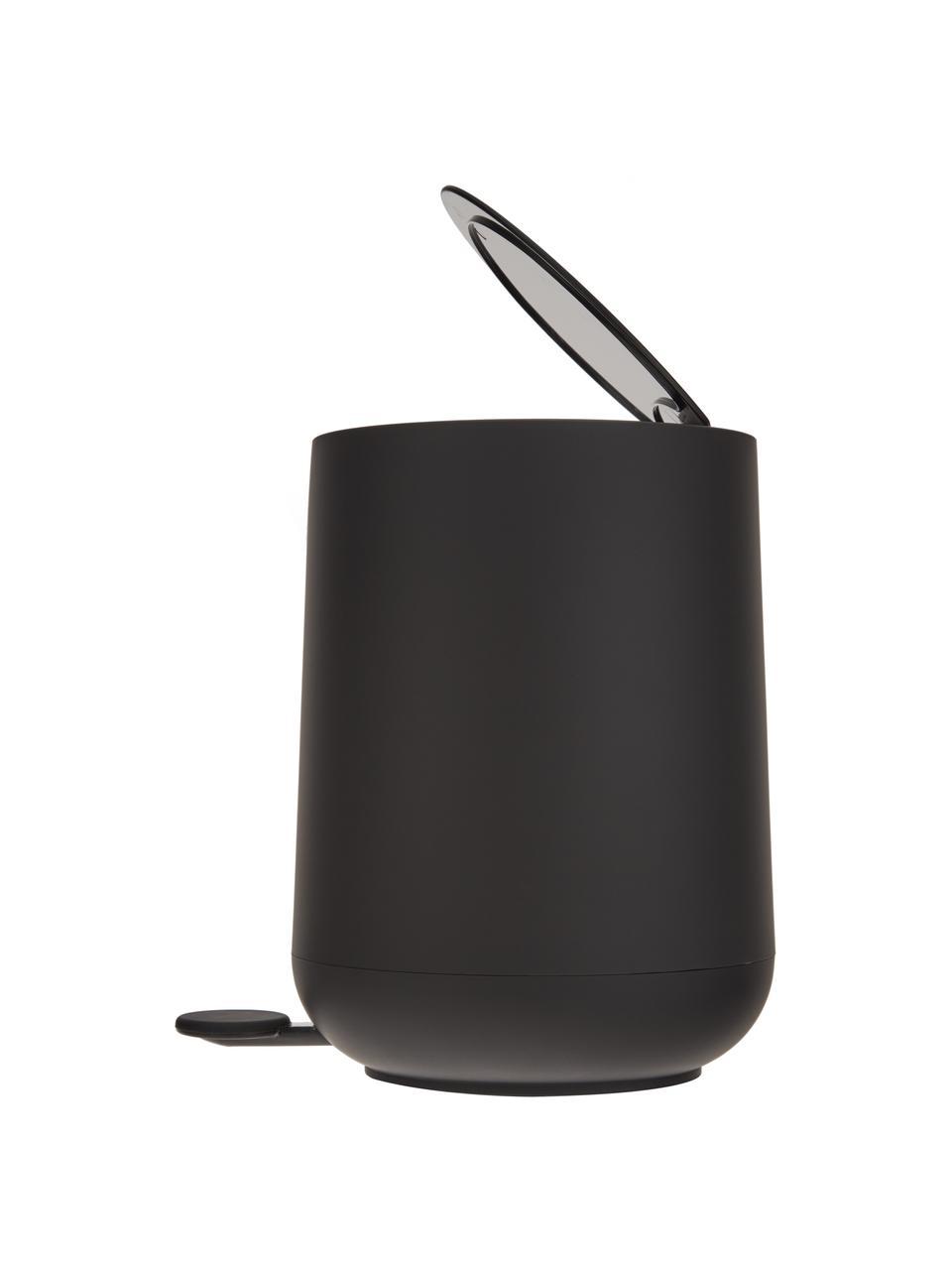 Abfalleimer Nova mit Softmotion-Deckel, ABS-Kunststoff, Schwarz, Ø 23 x H 29 cm