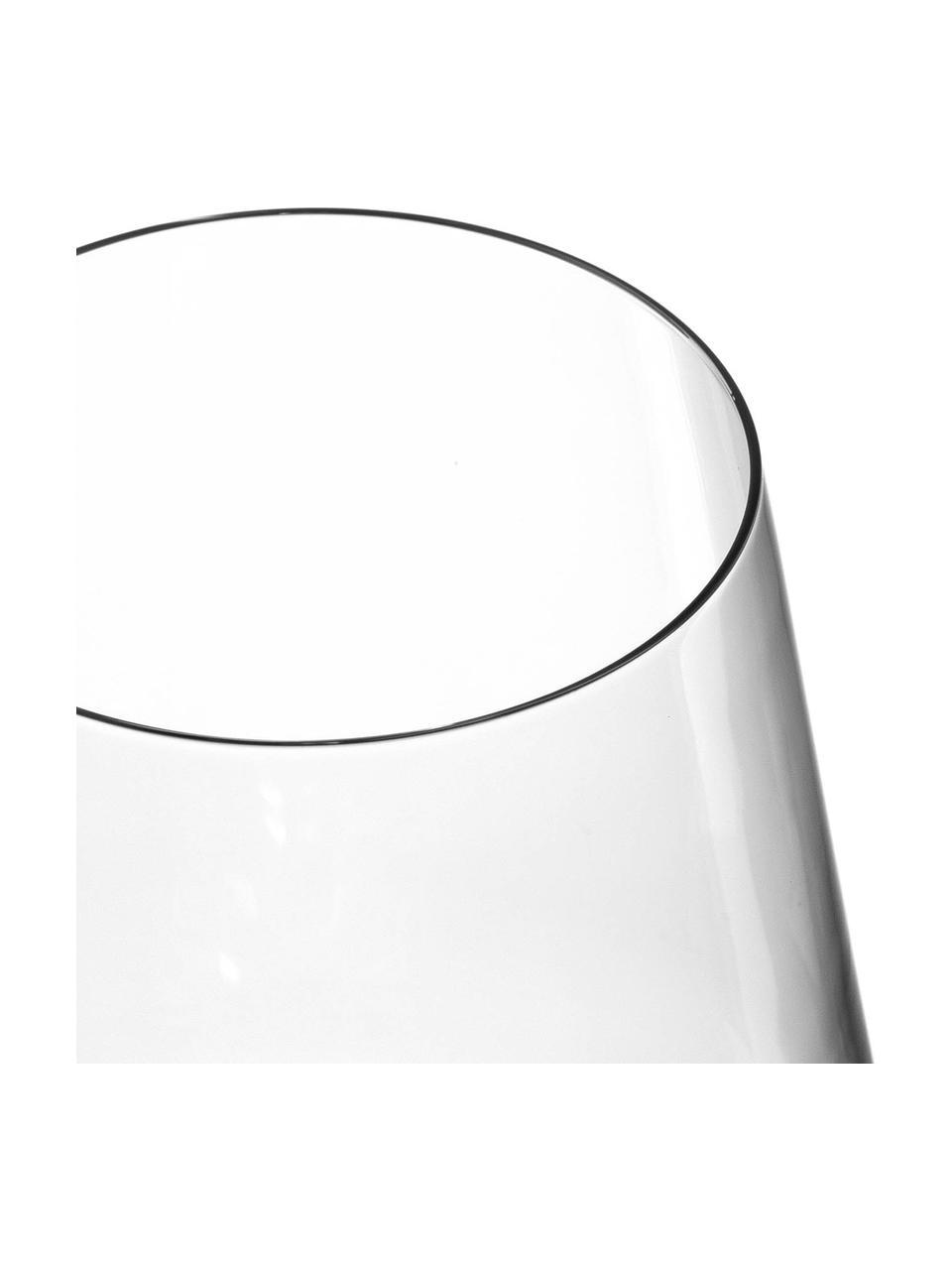 Rotweingläser Puccini, 6 Stück, Kristallglas, Transparent, Ø 11 x H 26 cm