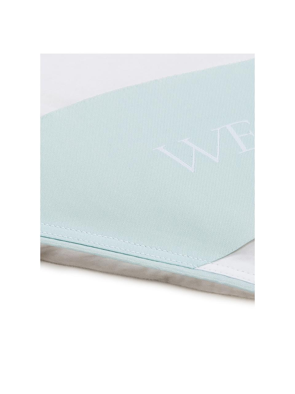 Edredón de plumón Komfort, ligero, Funda: 100%algodón, sarga de Ma, Blanco, Cama 150/160 cm (240 x L 220 cm)