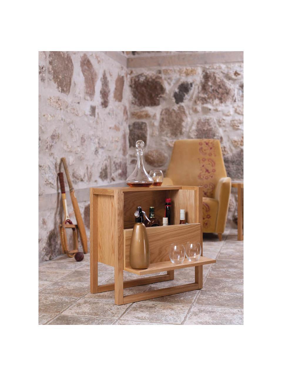 Mini bar bois de chêne NewEst, Bois de chêne