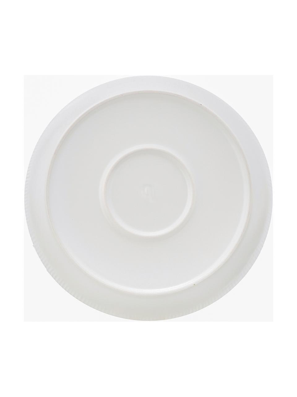 Ręcznie wykonana miska Sandvig, Porcelana farbowana, Złamana biel, Ø 24 x W 4 cm