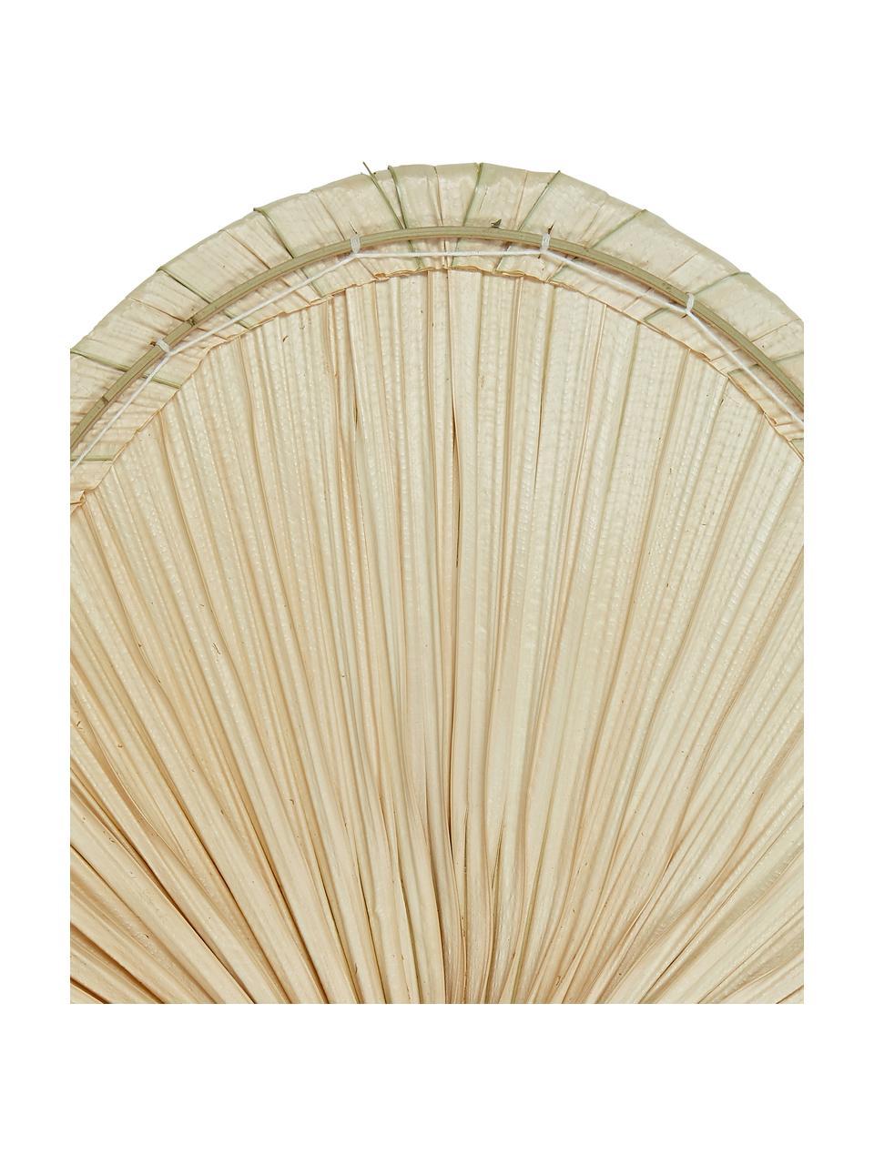 Feuille de palmier décorative Seam, Brun clair