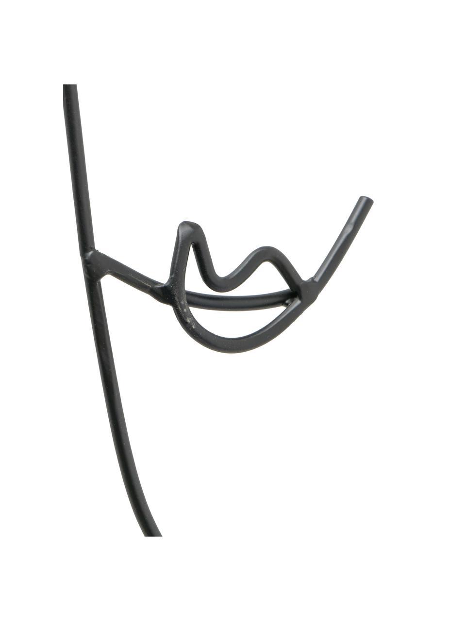 Komplet dekoracji ściennych Pica, 2 elem., Metal lakierowany, Czarny, S 49 x W 69 cm