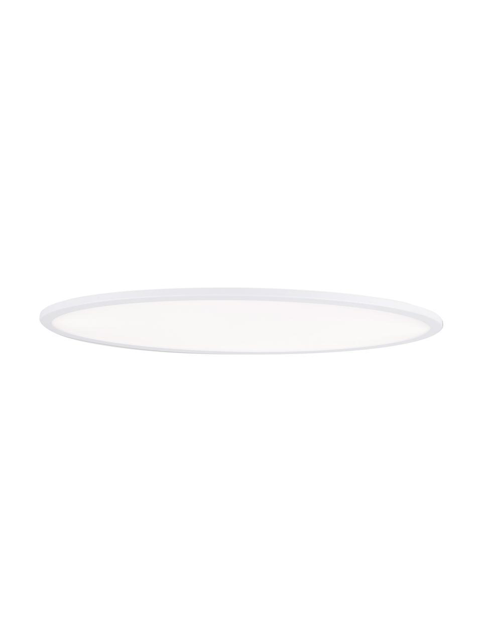 Plafoniera a LED Pesaro, Bianco, Larg. 80 x Alt. 6 cm