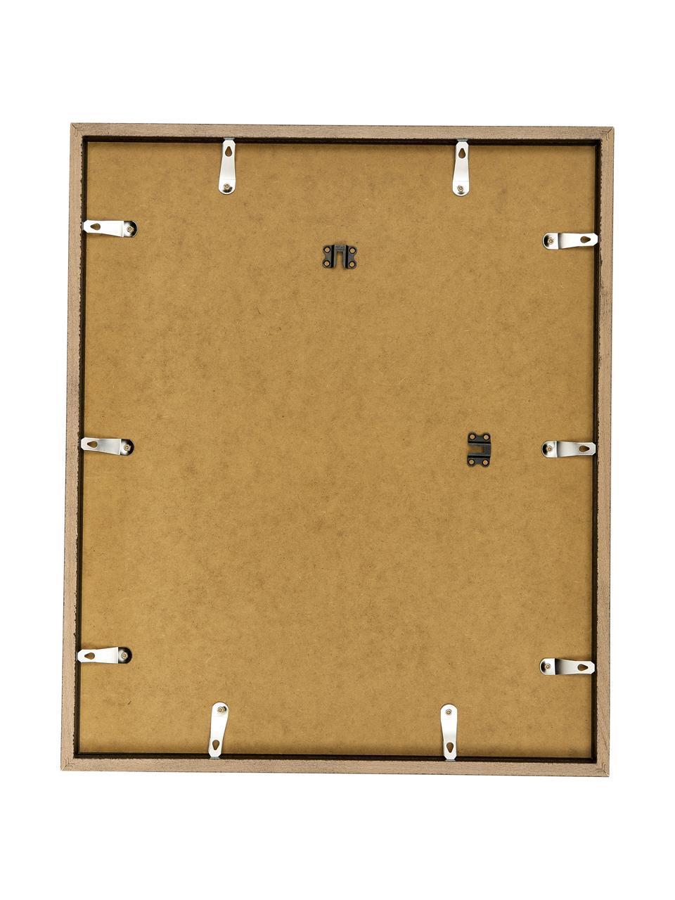 Gerahmter Digitaldruck Abstract Face II, Rahmen: Buchenholz, lackiert, Front: Plexiglas, Bild: Digitaldruck auf Papier, , Rahmen: Schwarz, 53 x 63 cm