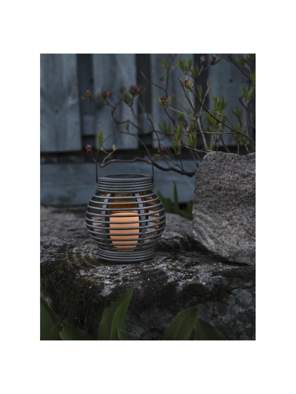 Zewnętrzna latarenka solarna LED Lantern, Szary, S 16 x W 16 cm