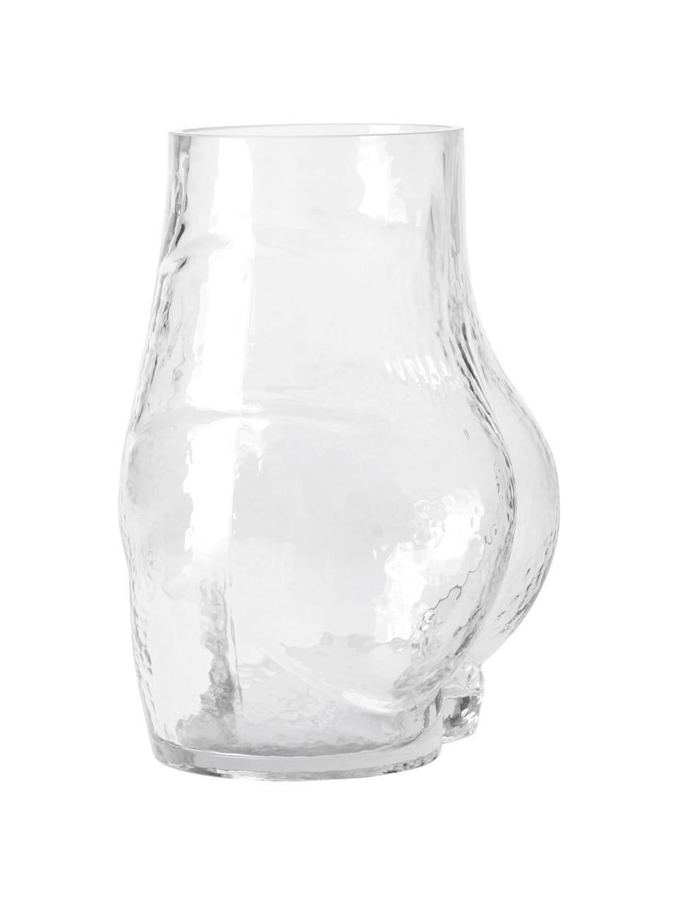 Glas-Vase Peach, Glas, Transparent, 20 x 23 cm