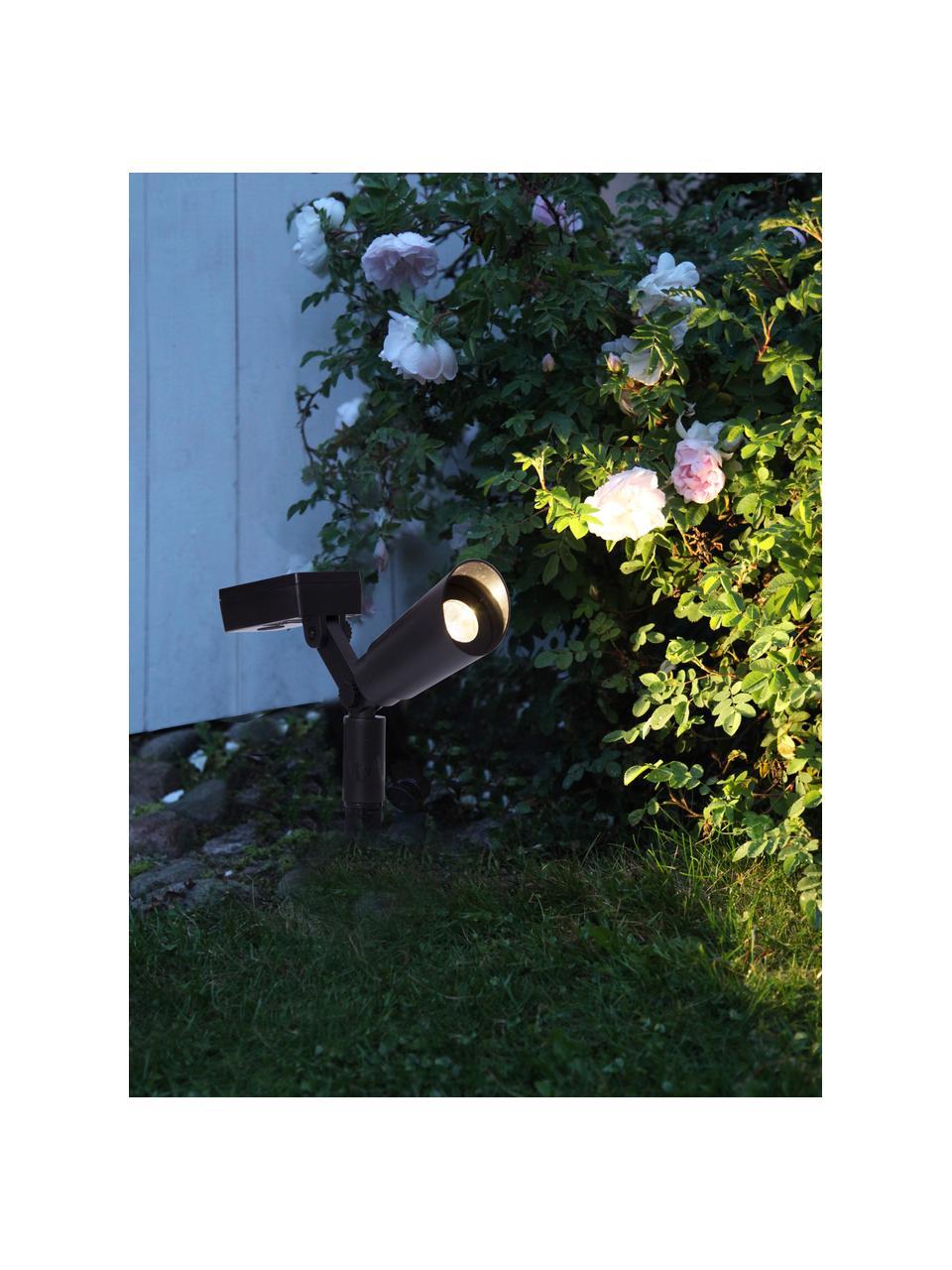 Lampa solarna podłogowa Powerspot, 2 szt., Czarny, S 20 x W 15 cm