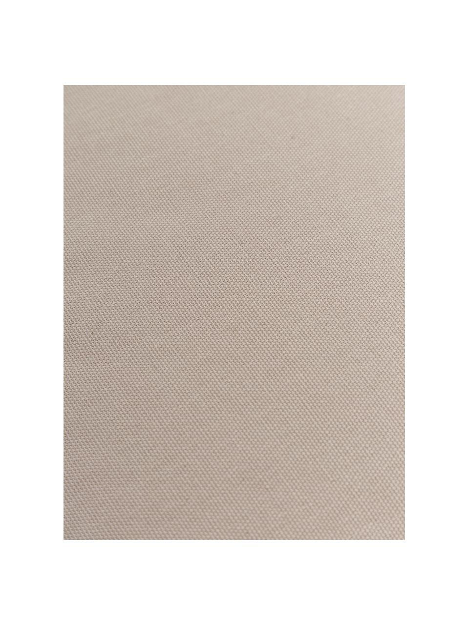 Cuscino sedia taupe Zoey, Rivestimento: 100% cotone, Beige, Larg. 40 x Lung. 40 cm