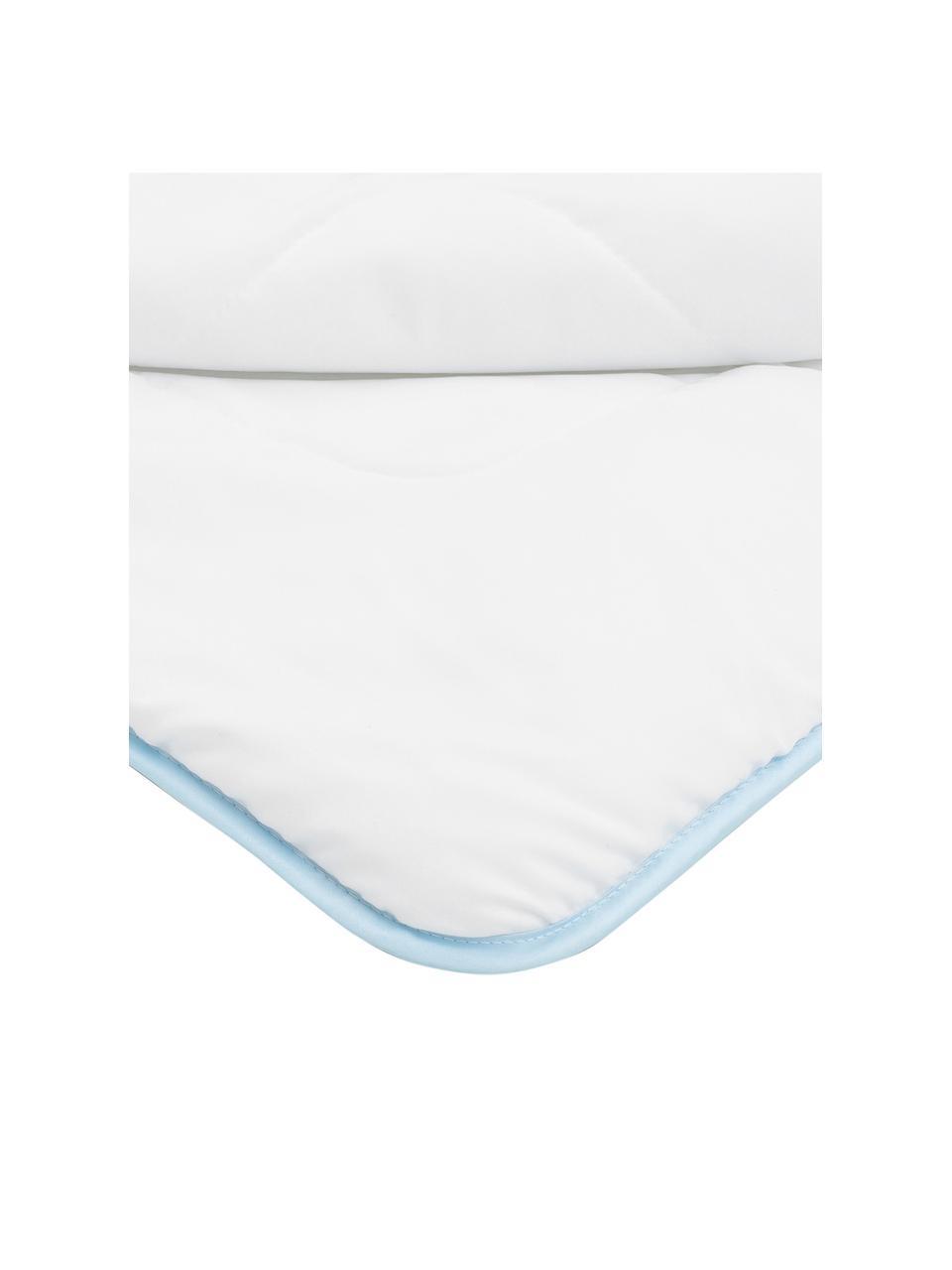 Microfaser-Bettdecke, warm, Bezug: Microfaser mit Rautenstep, warm, 135 x 200 cm