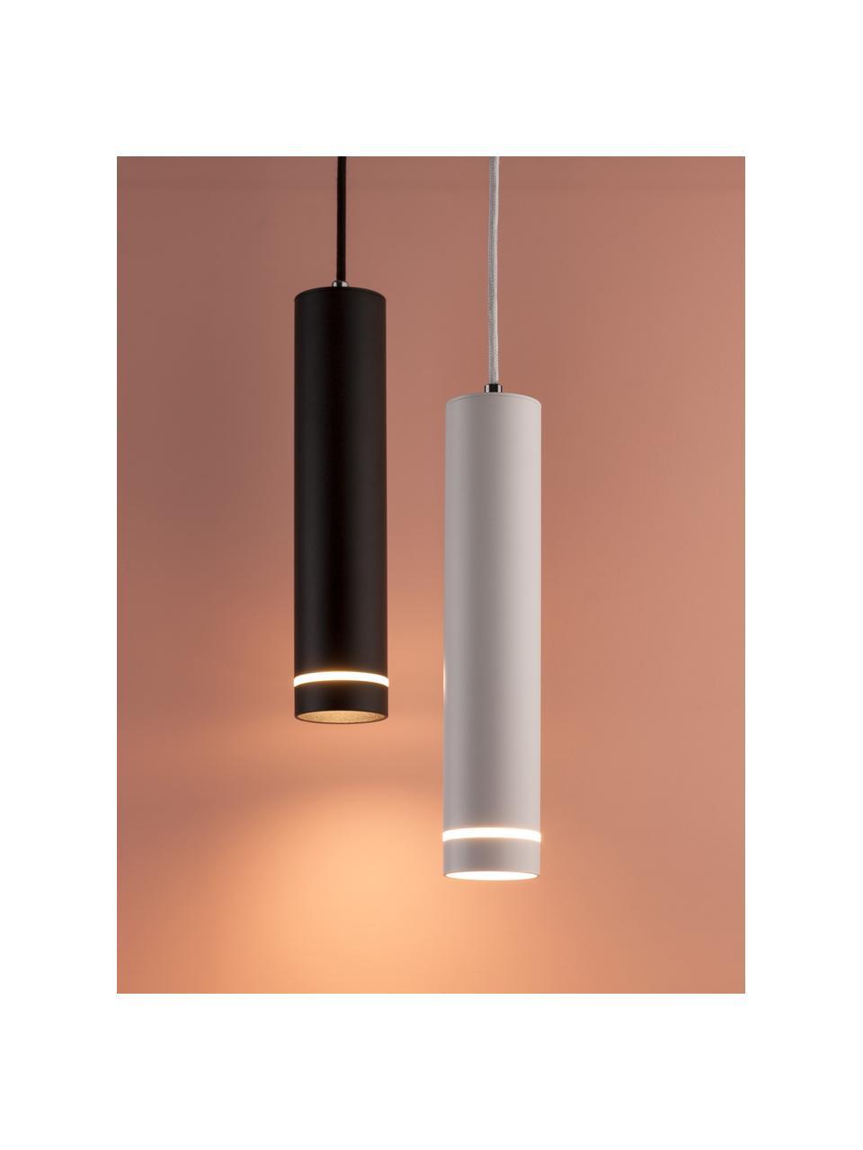 Lampa wisząca Esca, Czarny, Ø 6 x W 30 cm