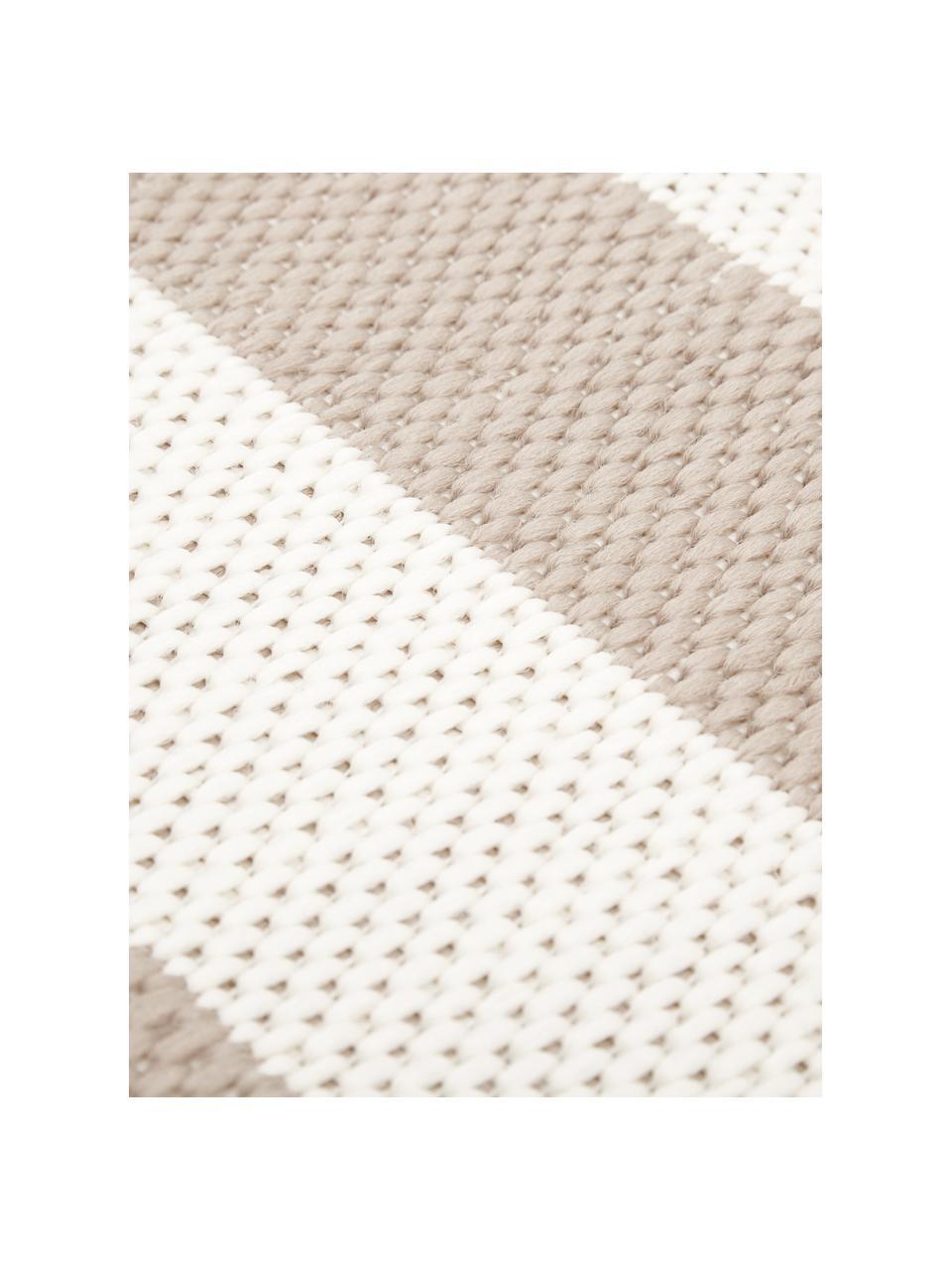 Dywan wewnętrzny/zewnętrzny Axa, 86% polipropylen, 14% poliester, Kremowobiały, beżowy, S 200 x D 290 cm (Rozmiar L)