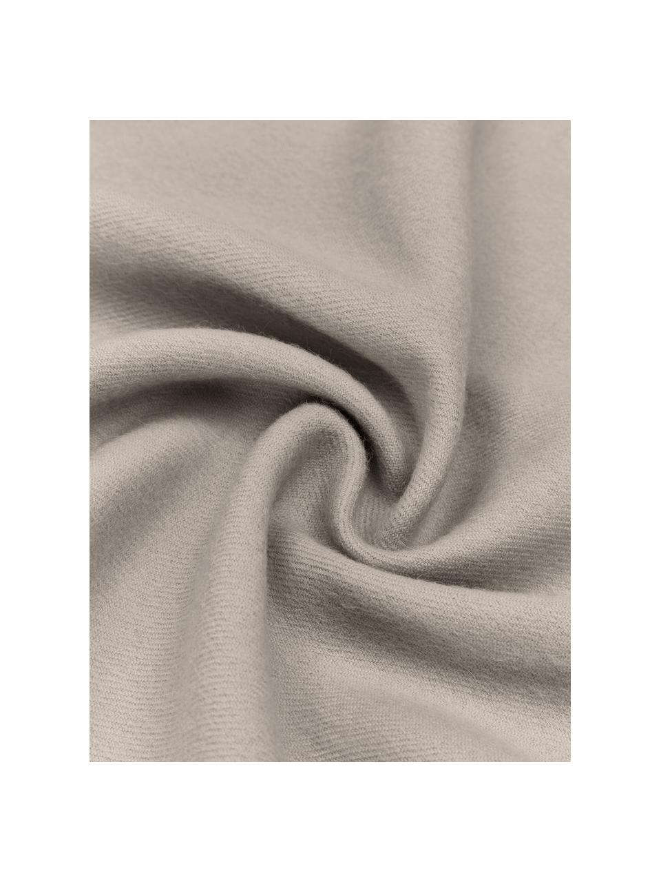 Leichte Babyalpaka-Decke Luxury in Beige, Beige, 130 x 200 cm