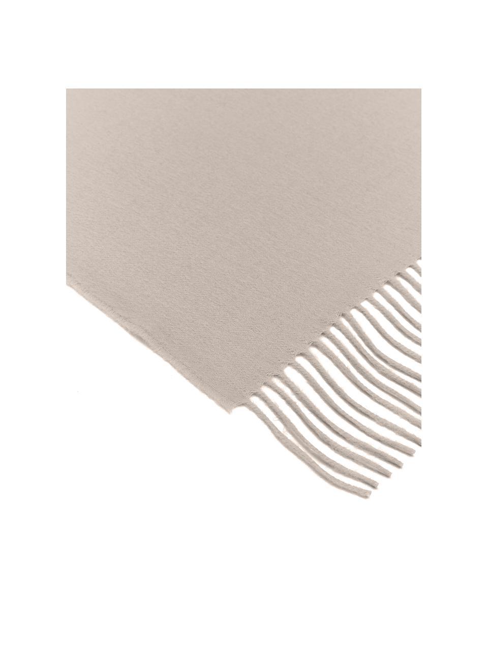 Lekki koc z wełny z młodych alpak Luxury, Beżowy, S 130 x D 200 cm