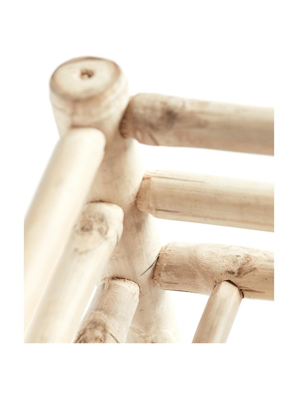 Credenza bassa in bambù Bamra, Bambù, Marrone chiaro, Larg. 150 x Alt. 55 cm