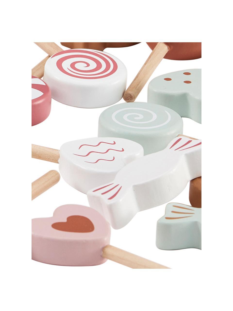 Spielzeug-Set Sweets, Beutel: Baumwolle, Polyester, Mehrfarbig, Ø 16 x H 20 cm