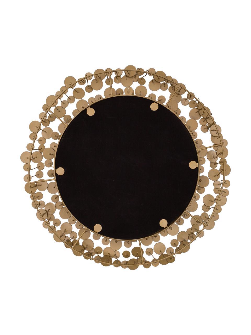 Lustro ścienne Penny, Odcienie złotego, Ø 64 cm