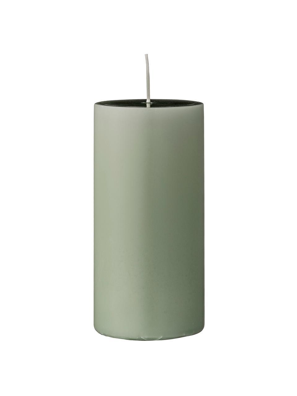 Świeca pieńkowa Lulu, 2 szt., Wosk, Jasny zielony, Ø 7 x W 15 cm