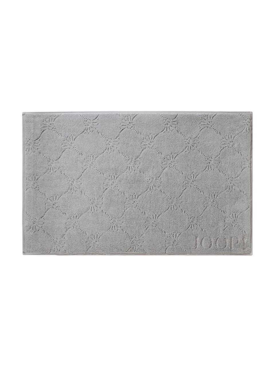 Dywanik  łazienkowy Cornflower, Srebrnoszary, S 50 x D 80 cm