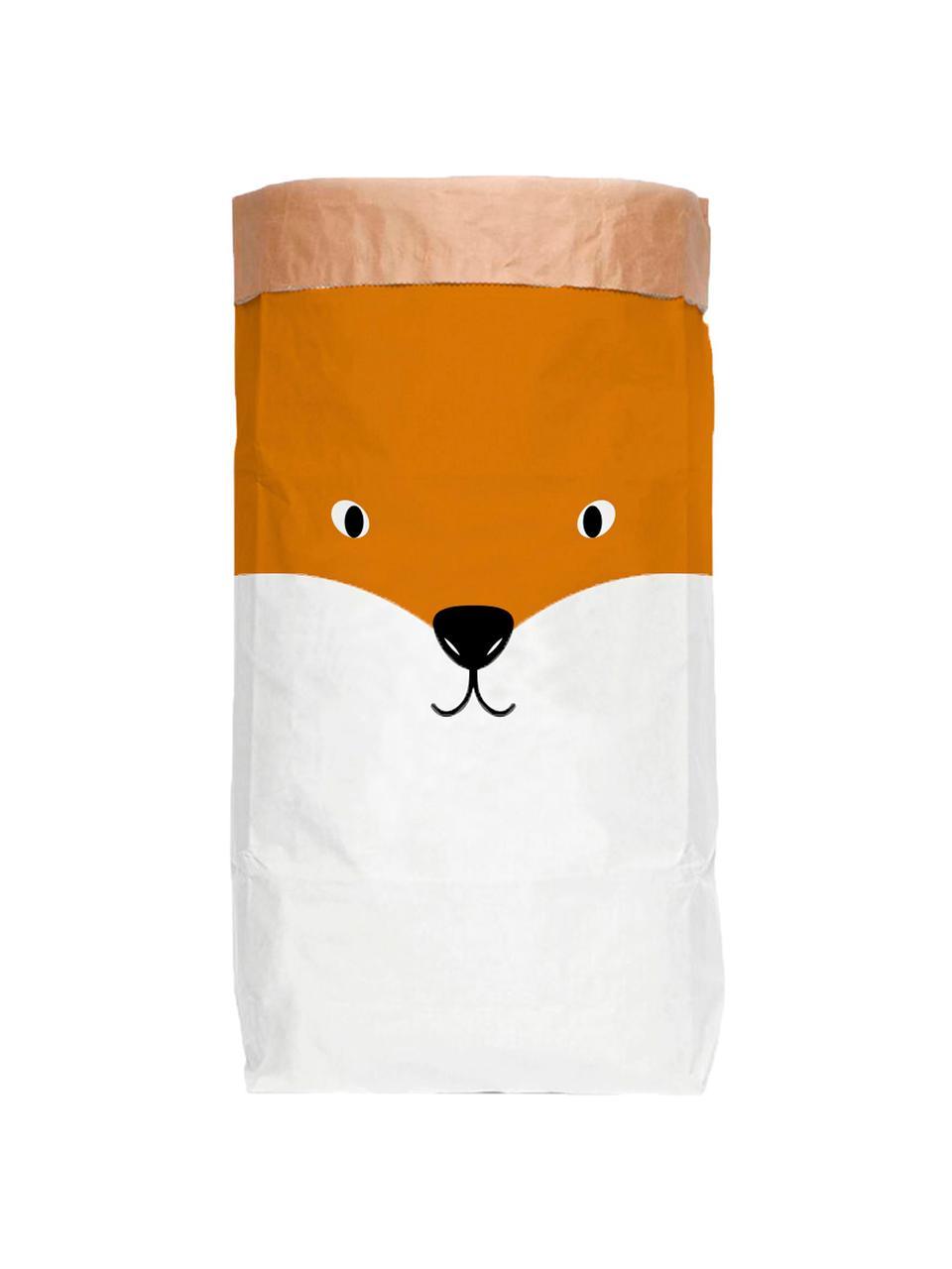Sac de rangement Fox, Blanc, orange, noir