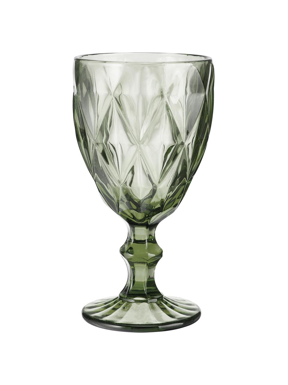 Komplet kieliszków do wina Colorado, 4 elem.., Szkło, Wielobarwny, Ø 9 x W 17 cm