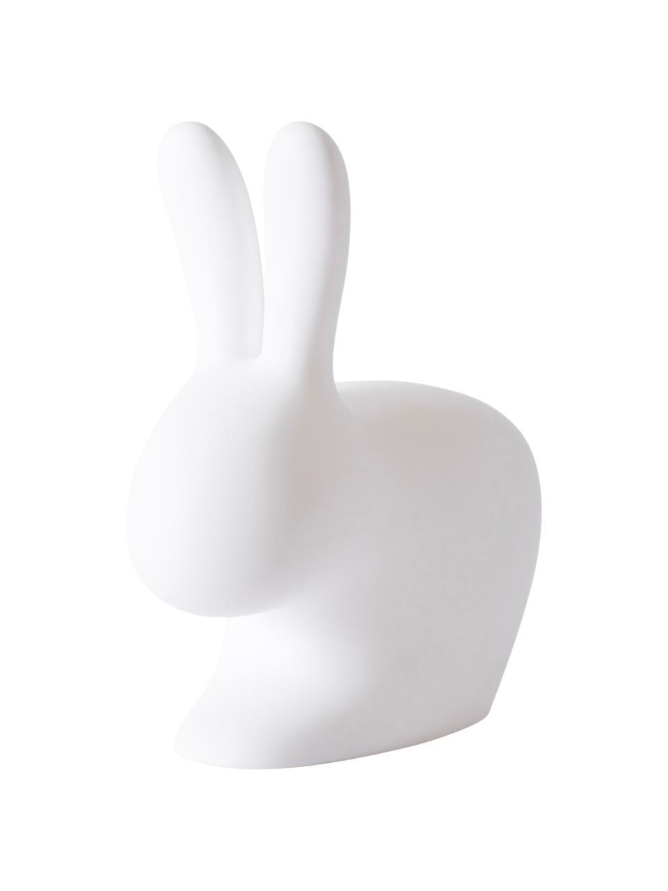 Dimmbare Mobile Bodenleuchte Rabbit, Leuchte: Kunststoff, Weiß, 45 x 53 cm