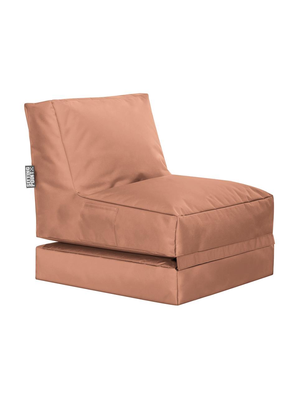 Outdoor loungefauteuil Pop Up met ligfunctie, Bekleding: 100% polyester Binnenzijd, Roze, 70 x 90 cm