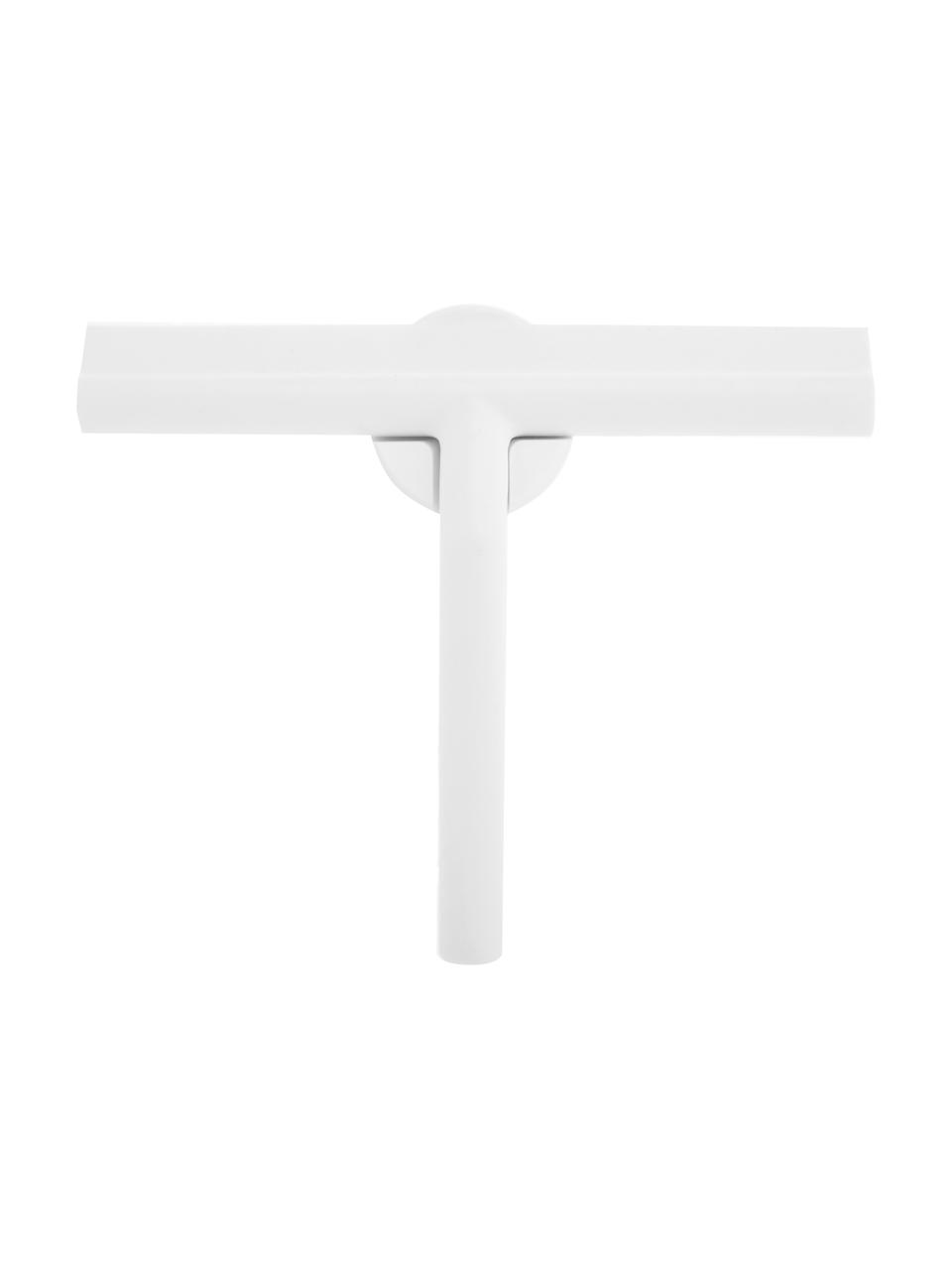 Raamwisserset Shiba, 2-delig, Raamwisser: kunststof (ABS), Rand: siliconen, Wit, 21 x 5 cm