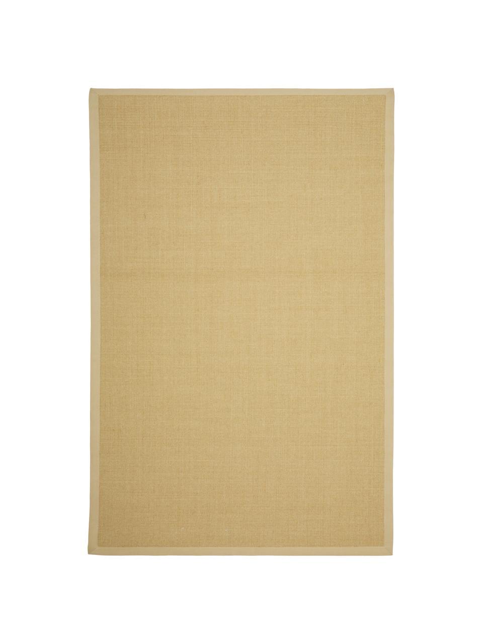 Handgefertigter Sisal-Teppich Nala, Flor: 100% Sisal, Beige, B 200 x L 300 cm (Größe L)