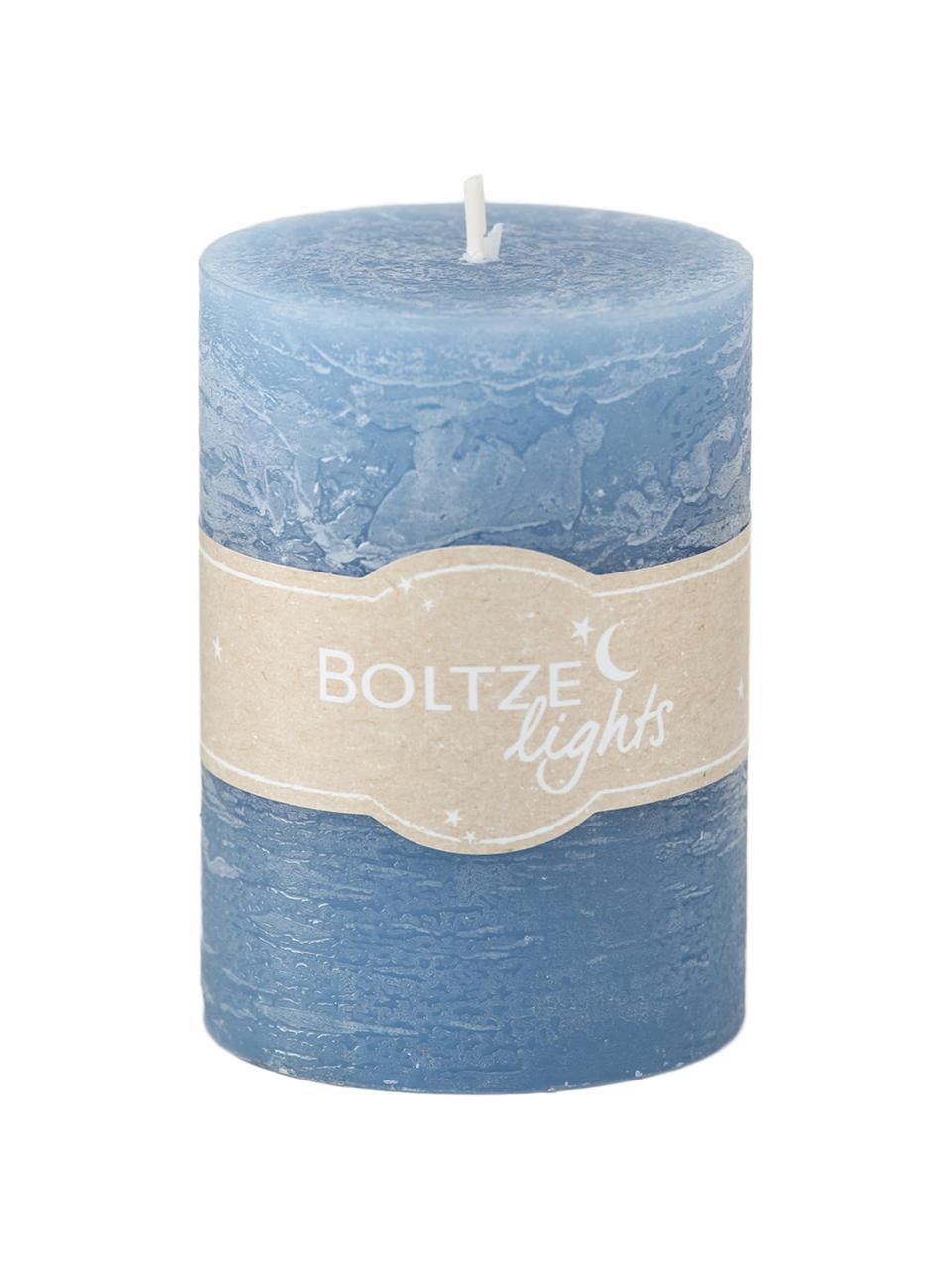 Set de velas Birara, 3pzas., Azul, Ø 7 x Al 10 cm