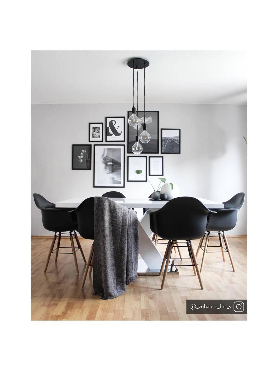 Lampa wisząca Sky, Czarny, Ø 25 cm