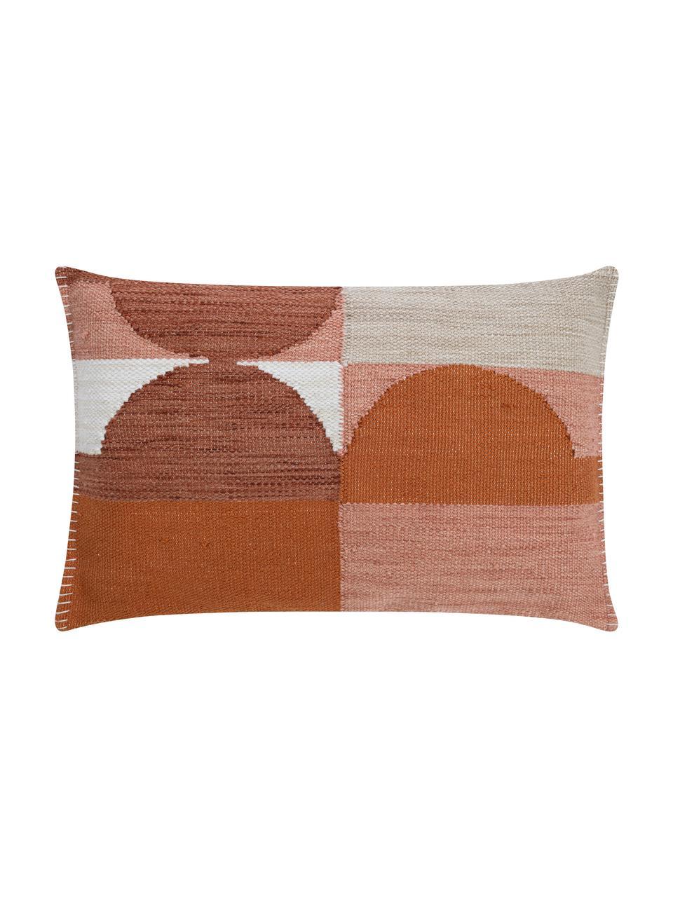 Poszewka na poduszkę Nouria, Terakota, S 40 x D 60 cm