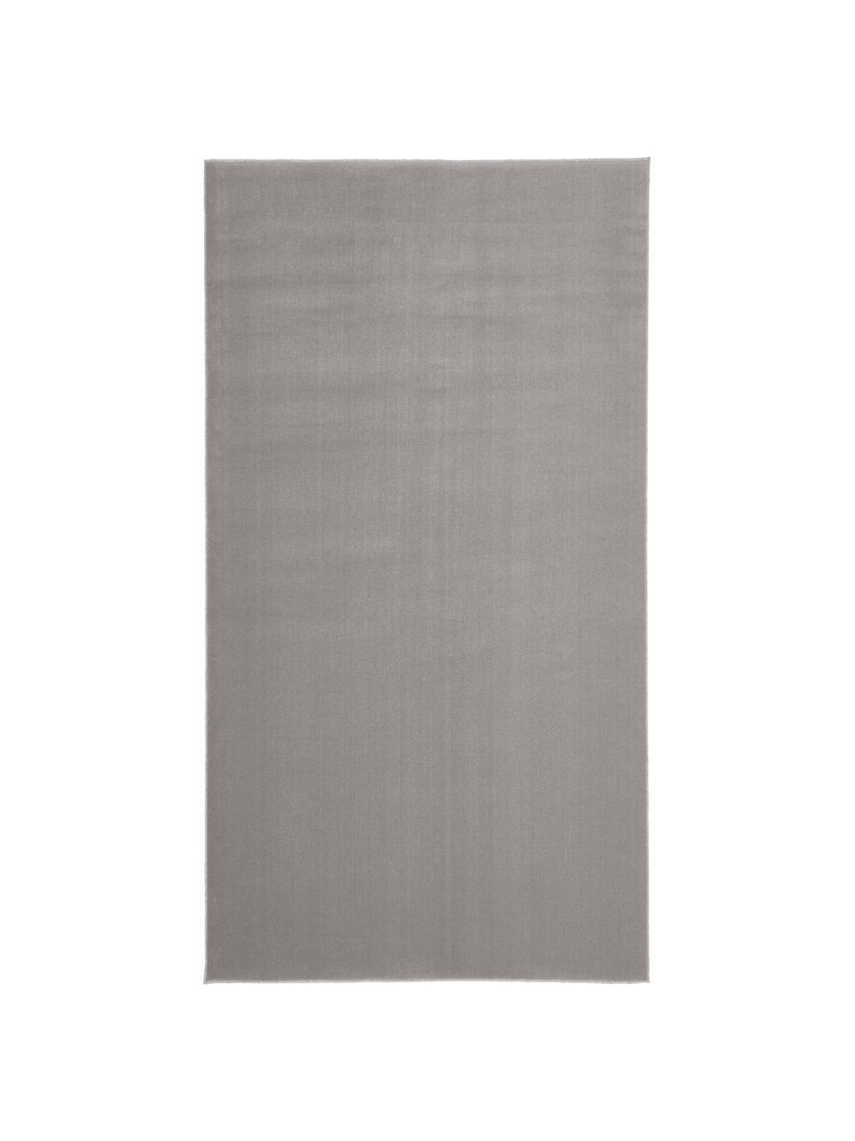 Tappeto in lana grigio Ida, Retro: 60% juta, 40% poliestere, Grigio, Larg. 300 x Lung. 400 cm (taglia XL)