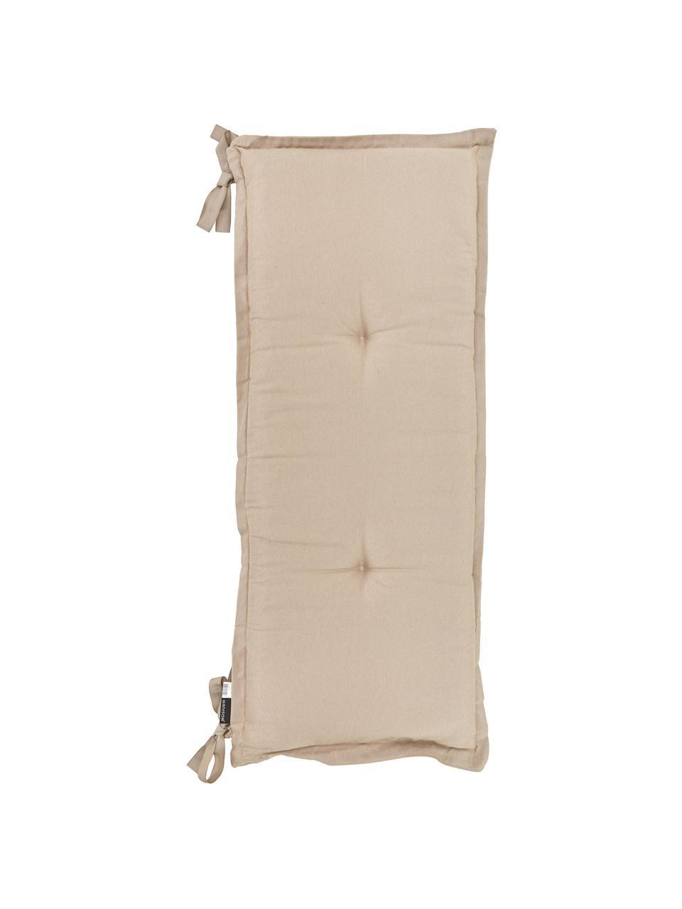Poduszka na ławkę Panama, Tapicerka: 50% bawełna, 45% polieste, Odcienie piaskowego, S 48 x D 120 cm