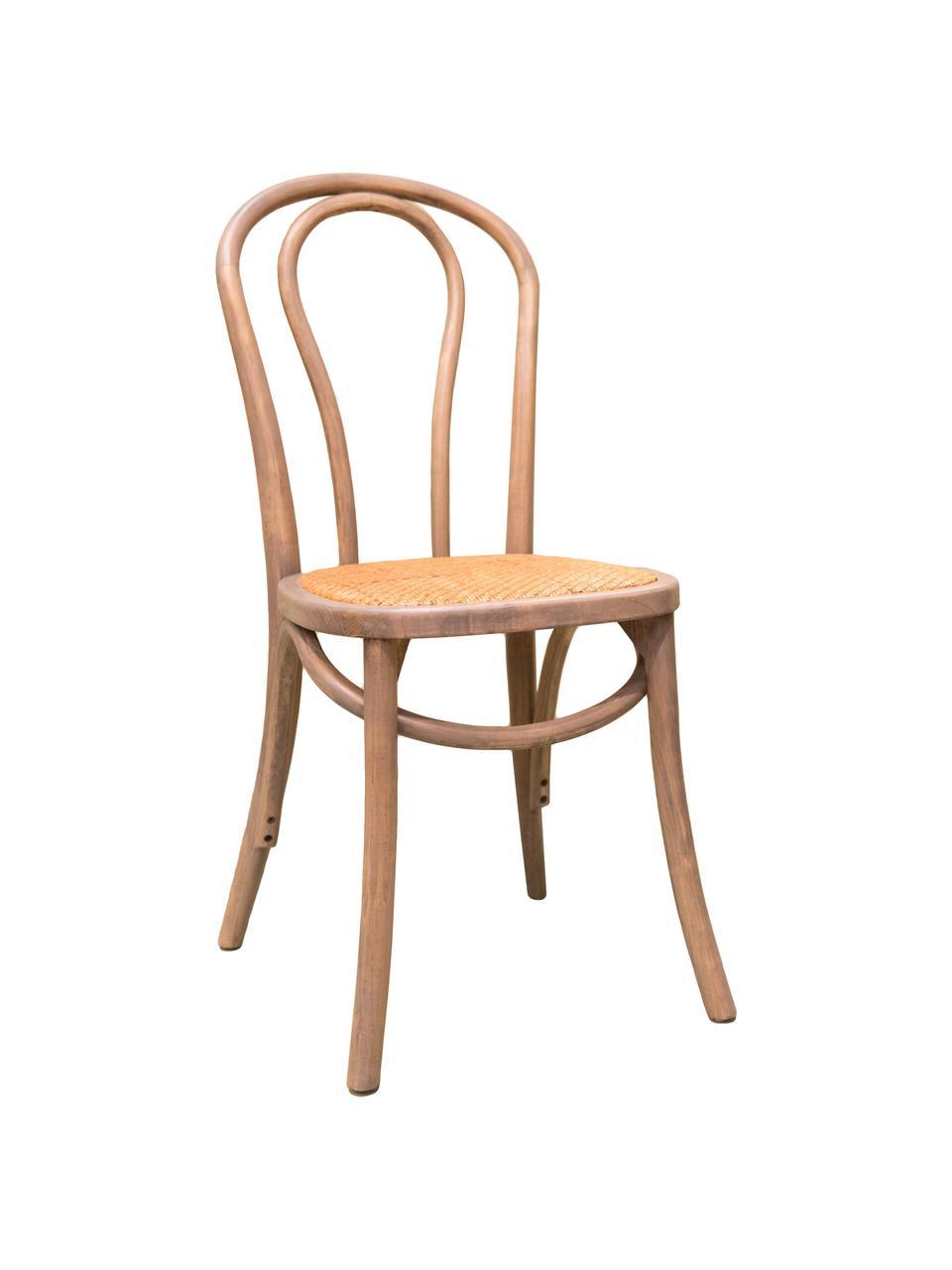 Krzesło z drewna Zari, Szary, S 42 x G 42 cm