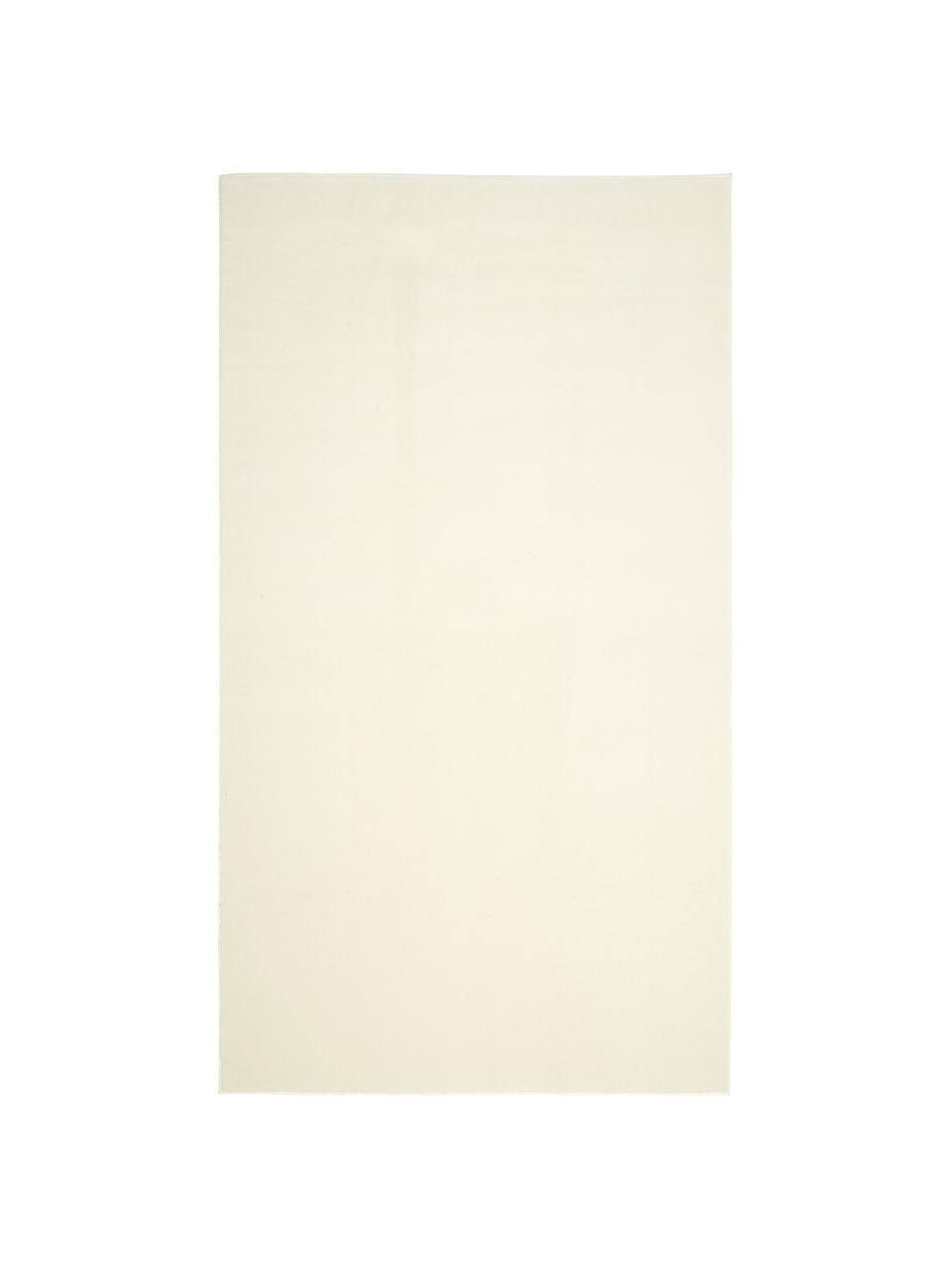 Wollen vloerkleed Ida in beige, Bovenzijde: 100% wol, Onderzijde: 60% jute, 40% polyester B, Beige, B 160 x L 230 cm (maat M)