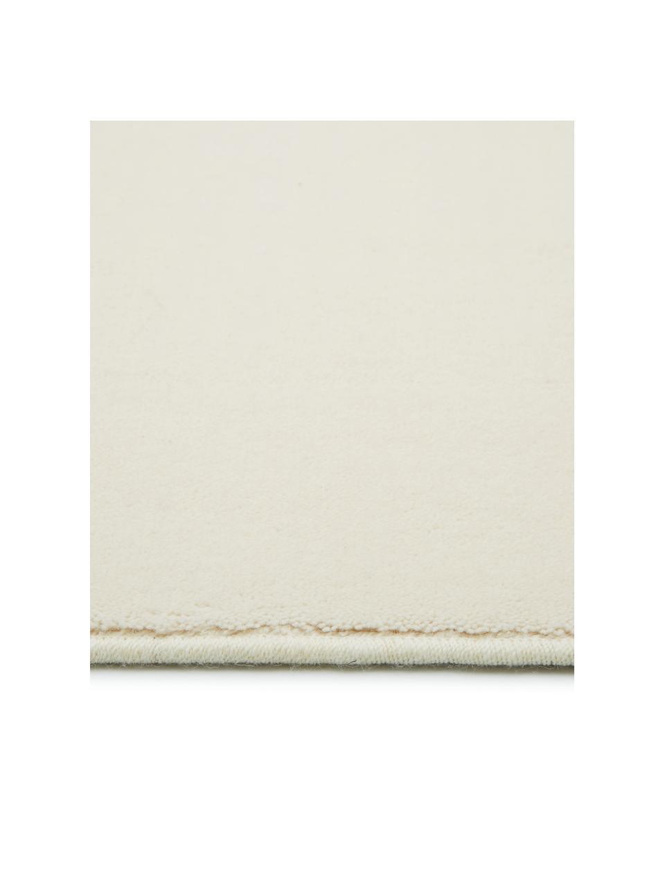 Tappeto in lana beige Ida, Retro: 60% juta, 40% poliestere , Beige, Larg. 200 x Lung. 300 cm  (taglia L)