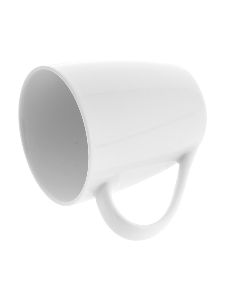 Tasse porcelaine blanche Delight, 2pièces, Blanc