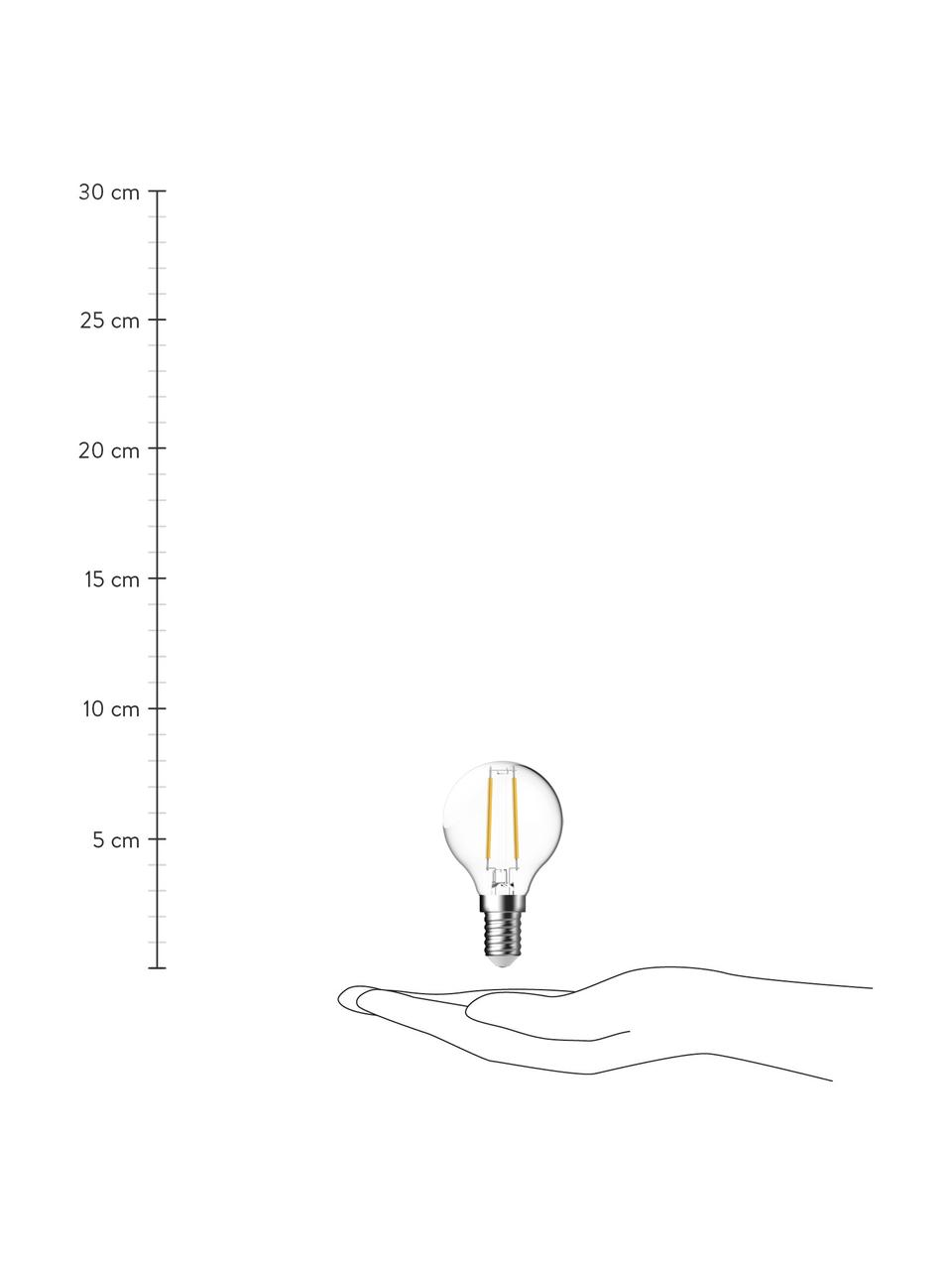 Żarówka E14/2.5W, ciepła biel, 6 szt., Transparentny, Ø 5 x W 8 cm