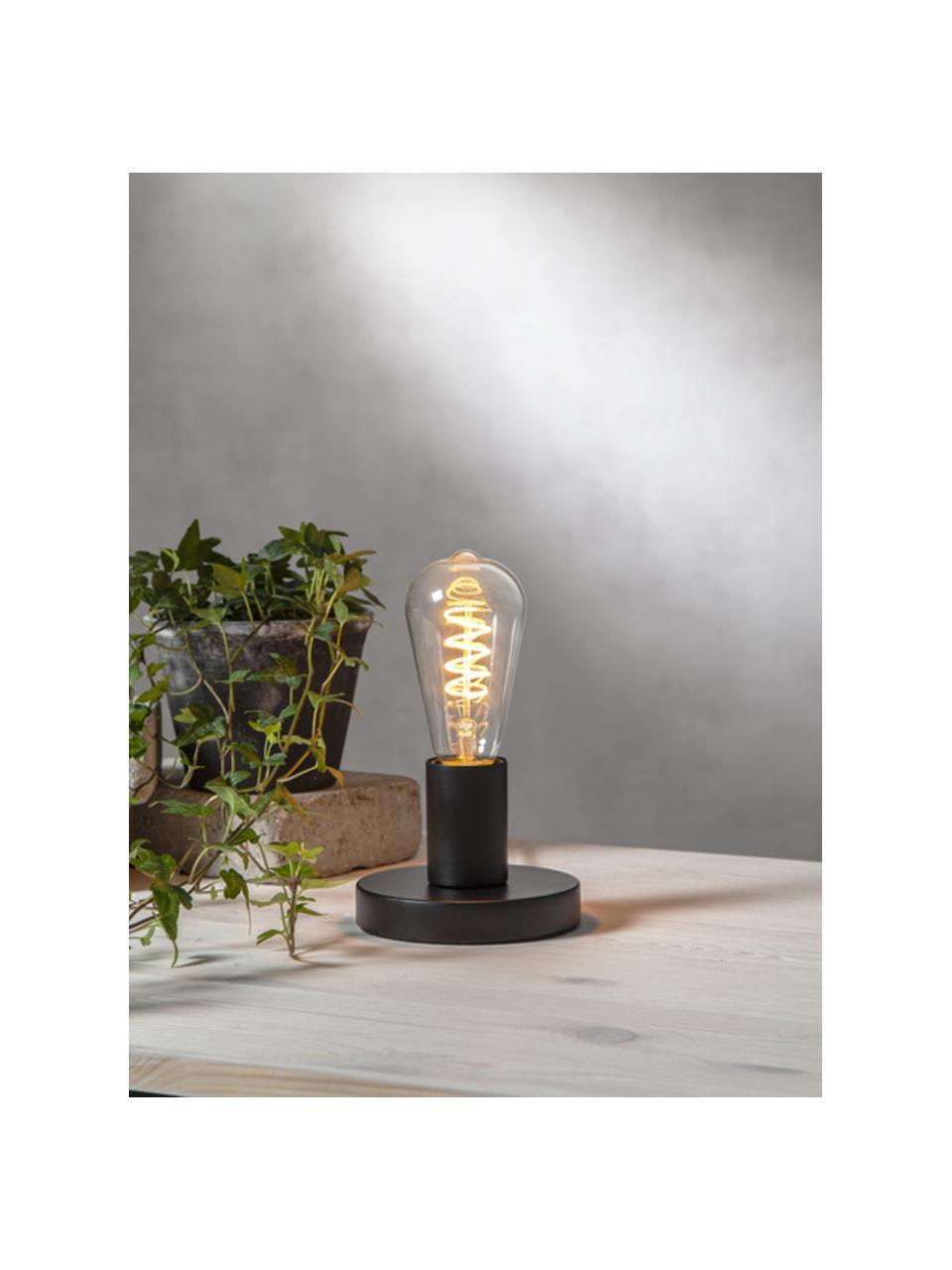 Lampadina E27, 4W, dimmerabile, bianco caldo 1 pz, Lampadina: vetro, Trasparente, Ø 6 x Alt. 14 cm